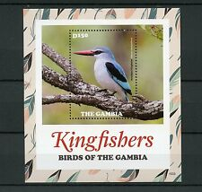 Gambia 2015 MNH Kingfishers Birds of The Gambia 1v S/S Woodland Kingfisher