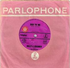"BILLY J KRAMER - BAD TO ME (BEATLES COVER) - RARE 7"" SAMPLE VINYL RECORD - 1963"