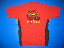 Louis Garneau cycling jersey Alaska Aids Vaccine Ride red cycle shirt tricycle M