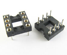 30 pcs  IC Socket Adapter 8 Pin Round  DIP High Quality