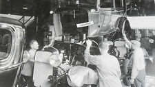 """1932 Ford - assembly line, body to frame 12X18"""" Black & White Picture"""