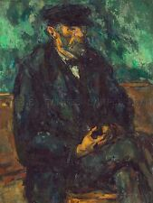 PAUL CEZANNE FRENCH GARDENER VALLIER OLD ART PAINTING POSTER PRINT BB6224A