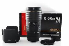 SIGMA AF 70-200mm f/2.8 EX APO for Minolta Sony A w/Hood [EXCELLENT+] From Japan