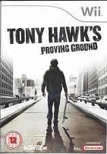 TONY HAWK'S PROVING GROUND for Nintendo Wii - with box & manual - PAL
