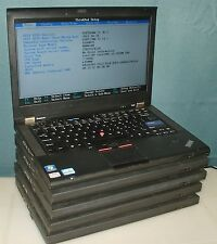 Lot of 5 Lenovo ThinkPad T420 Laptop i5-2520M Vpro 2.5Gz 6GB WebCam