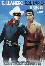 The Lone Ranger + Lone Ranger and  Lost City of Gold  **Dvd R2** Clayton Moore