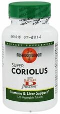 Mushroom Wisdom Super Coriolus  (Turkey Tail) 120 vtabs - Exp Date: 04/2018