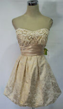 MASQUERADE Gold Homecoming Prom Party Dress 9 -$100 NWT