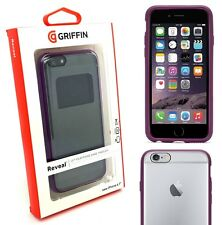 100% Genuine Griffin Reveal Clear Shell Case Cover For Apple iPhone 6S & 6 4.7""