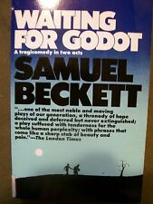 WAITING FOR GODAT SAMUEL BECKETT 1982 SOFTCOVER