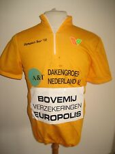 Olympia's Tour RIDER WORN Holland rare jersey shirt cycling wielershirt size L