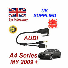 AUDI A4 Series AMI MMI For Apple iPhone 5 5c 5s 6 6 plus 8 pin & AUX 3.5mm Cable