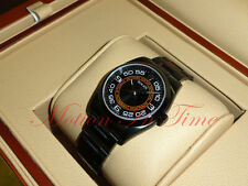 "Rolex Oyster Perpetual 36mm PVD ""Harley Davidson"" Edition Black W/ Orange 116000"