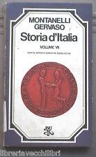 STORIA D ITALIA Vol VII Papato Impero e Comuni Indro Montanelli Roberto Gervaso