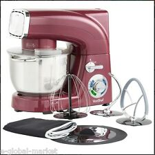 Stand Mixer Blender Electric Grinder Guard Kitchen Cake Food Dust COVER Burgundy