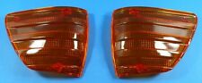 MERCEDES W107 Blinker LINKS RECHTS SET W107 R107 SLC Indicator Lens NEUWARE