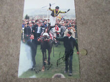 Norman WILLIAMSON + other sig  MASTER OATS Horse Racing Original Hand SIGNED Pic