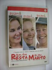 QUEL CHE RESTA DI MIO MARITO - DVD PAL VERY GOOD CONDITION - JESSICA LANGE
