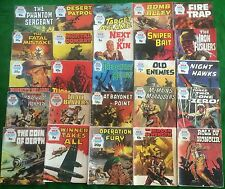25 War Picture Library Comics Random Lot Battle Commando Please Read