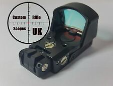 Red Dot reflex Sight + various mount options, battery eject and auto movement on