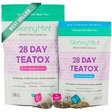 The SkinnyMint 28 day Ultimate Teatox Natural Weight Loss, Body Cleanse