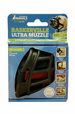 Baskerville Ultra Dog Muzzle size 4, Black, Muzzle For Greyhound, Pit Bull...