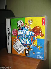 MY FARM AROUND THE WORLD NINTENDO DS NUOVO SIGILLATO