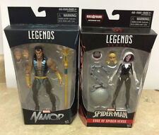 Hasbro Marvel Legends Spider Gwen & Walgreens Namor New Action Figure Lot Of 2!