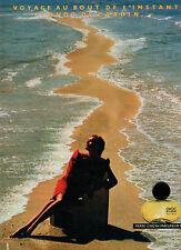 Publicité Advertising 1983  Parfum CHOC DE PIERRE CARDIN