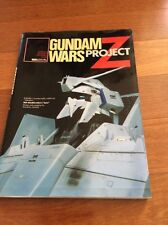 Gundam Wars Project Z modeling support manual book