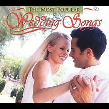 Various Artists Most Popular Wedding Songs New Sealed CD W5
