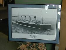 RMS Titanic original art print...very nice