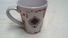 Poker Cards Ace of Spades Full House Latte Coffee Mug - Great for Card Player