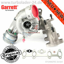 VW Golf V 5 2,0tdi turbocompresor 96kw BVB Turbocharger 765261-5008s nuevo New!!!