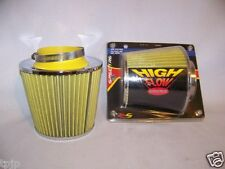 """CONE 3"""" HIGH FLOW SPECTRE AIR INTAKE INLET FILTER MODEL 8134"""
