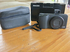 Ricoh GR GR 16.2 MP Digital Camera with extras