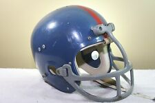 WILSON CLEAR SHELL Vintage Game Worn Used Football Helmet Suspension DUNGARD