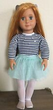 "Battat Our Generation Red Hair, Blue Eyes 18"" Doll H18000-02"