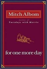 For One More Day, Mitch Albom, 9781401303273, Book, Acceptable