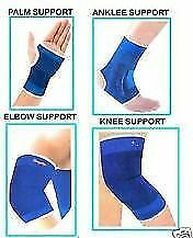 Ankle + Knee + Elbow + Palm Support Combo Pairs of each for GYM Exercise Grip