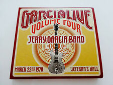 Jerry Garcia Live Volume Four 4 JGB Sebastopol CA 3/22/1978 2 CD Grateful Dead