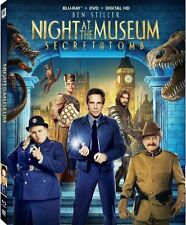 Night at the Museum: Secret of the Tomb (Blu-ray/DVD, 2015, 2-Disc Set)