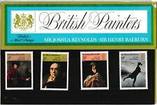 M1321dmsA5lc 1973 GB UK British Painters Stamp pack