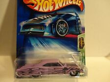 2004 Hot Wheels TH #101 Light Purple 1965 Pontiac Bonneville w/Real Riders