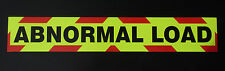 Abnormal Load Fluorescent Magnetic Warning Sign (Large 1200mm)