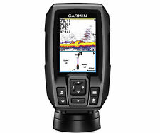 Garmin Sonar Fishfinder GPS Plotter Combo Color Display Depth Adj Mount Fishing