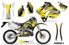 Honda Graphic Kit AMR Racing Bike Decal CRM  250AR Decal MX Part ALL CRBON X YLW