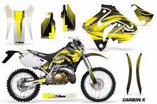 Honda Graphic Kit AMR Racing Bike Decal CRM  250AR Decal MX Part ALL CRBON X YLW