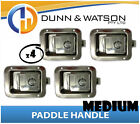 Medium Paddle Handle (Lock, Latch) x4 Camper Trailer, Caravan Toolbox, Motorhome