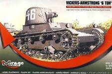 Mirage Hobby - Vickers Armstrong 6ton mk F/B Light tank Modell-Bausatz - 1:35